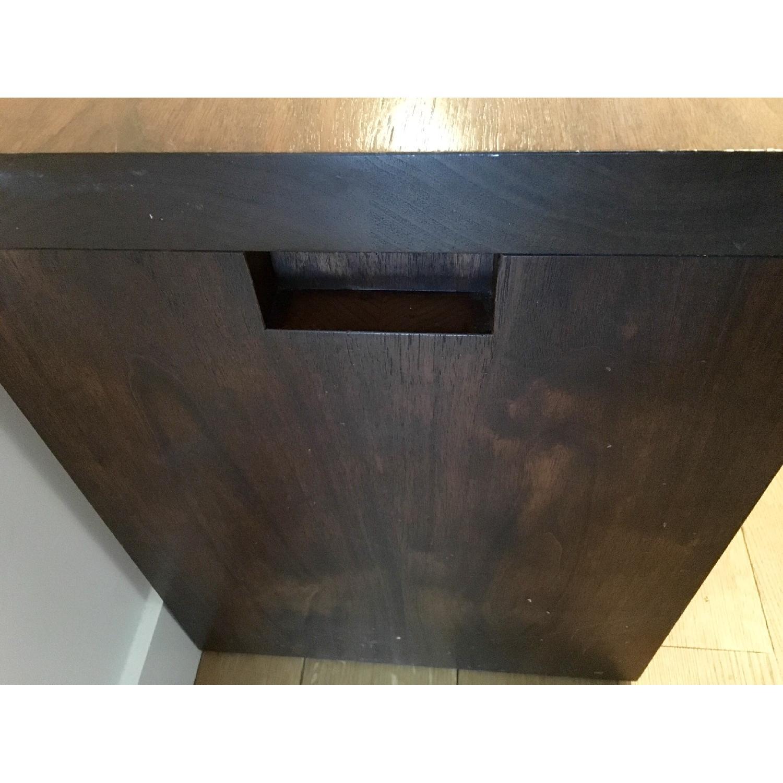 Custom Stephen Iino Solid American Black Walnut Dining Table w/ Bench - image-5