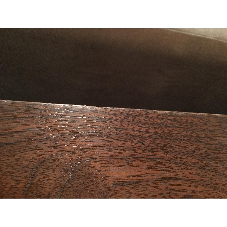 Custom Stephen Iino Solid American Black Walnut Dining Table w/ Bench - image-9