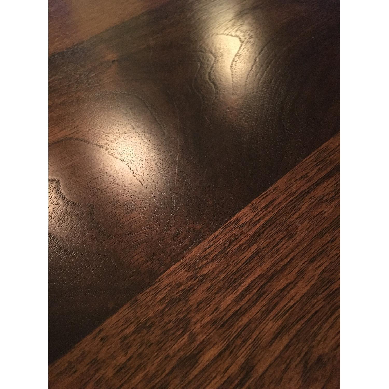 Custom Stephen Iino Solid American Black Walnut Dining Table w/ Bench - image-11