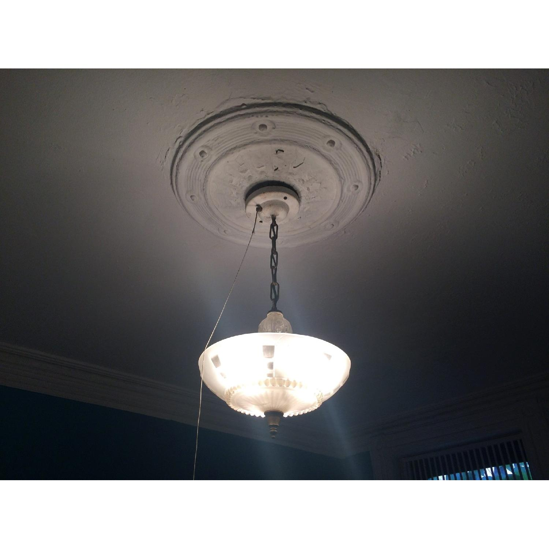 Antique 1940s Pendant Lamp - image-1