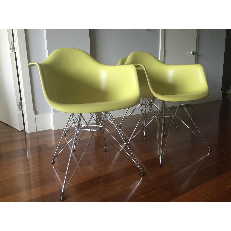 Eames Molded Plastic Eiffel Base Armchair - image-3