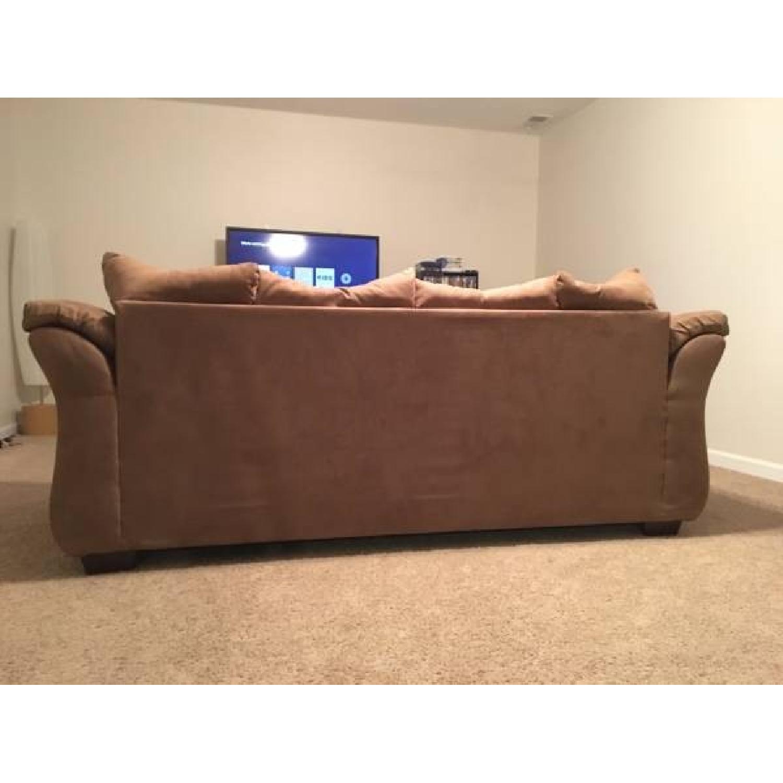 Ashleys Darcy Sofa w/ Matching Pillows - image-2
