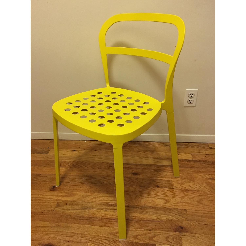 Ikea Lerhamn Dining Table w/ 4 Reidar Chairs - image-1
