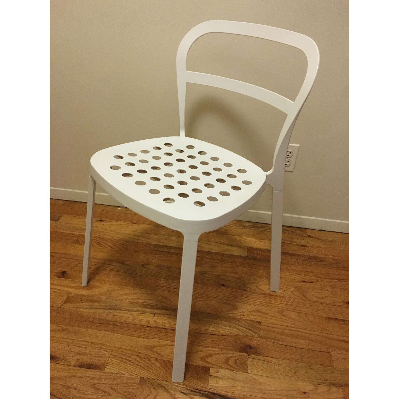 Ikea Lerhamn Dining Table w/ 4 Reidar Chairs - image-4