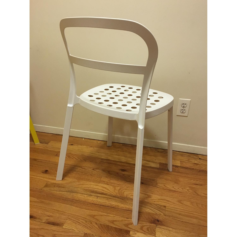 Ikea Lerhamn Dining Table w/ 4 Reidar Chairs - image-5