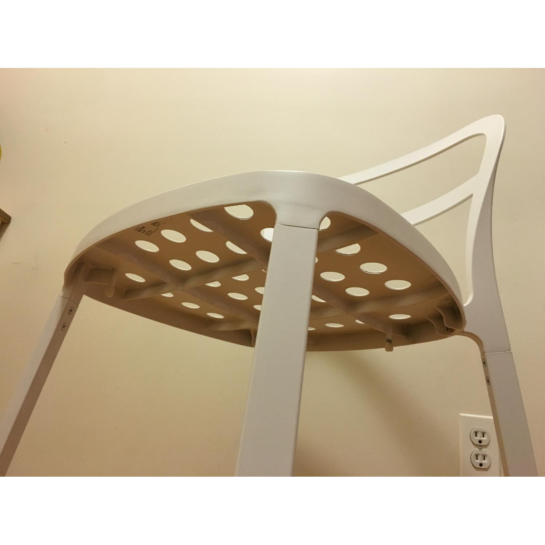 Ikea Lerhamn Dining Table w/ 4 Reidar Chairs - image-6
