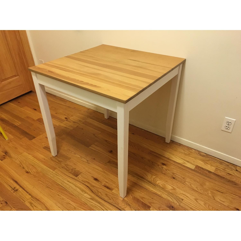 Ikea Lerhamn Dining Table w/ 4 Reidar Chairs - image-7
