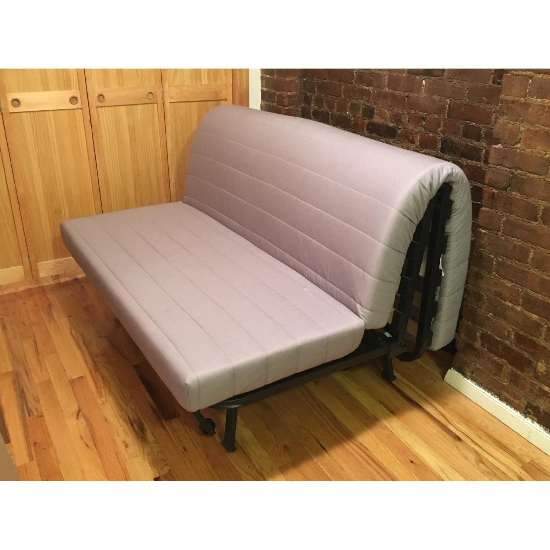 Ikea Lycksele Lovas Grey Sofa Bed - image-1