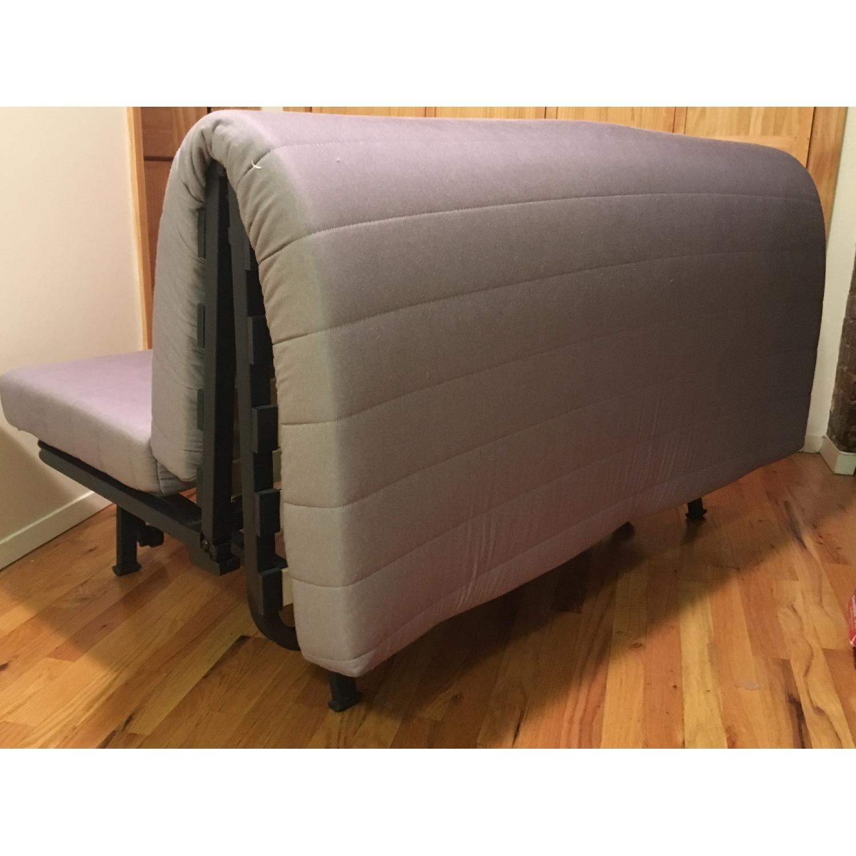 Ikea Lycksele Lovas Grey Sofa Bed - image-2