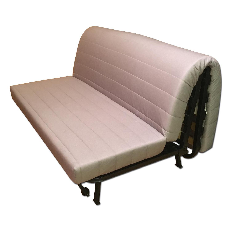 Ikea Lycksele Lovas Grey Sofa Bed - image-0
