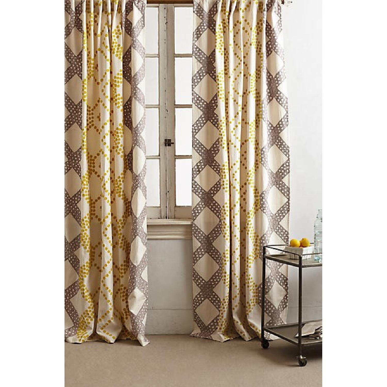 Anthropologie Ratio Curtains - image-1