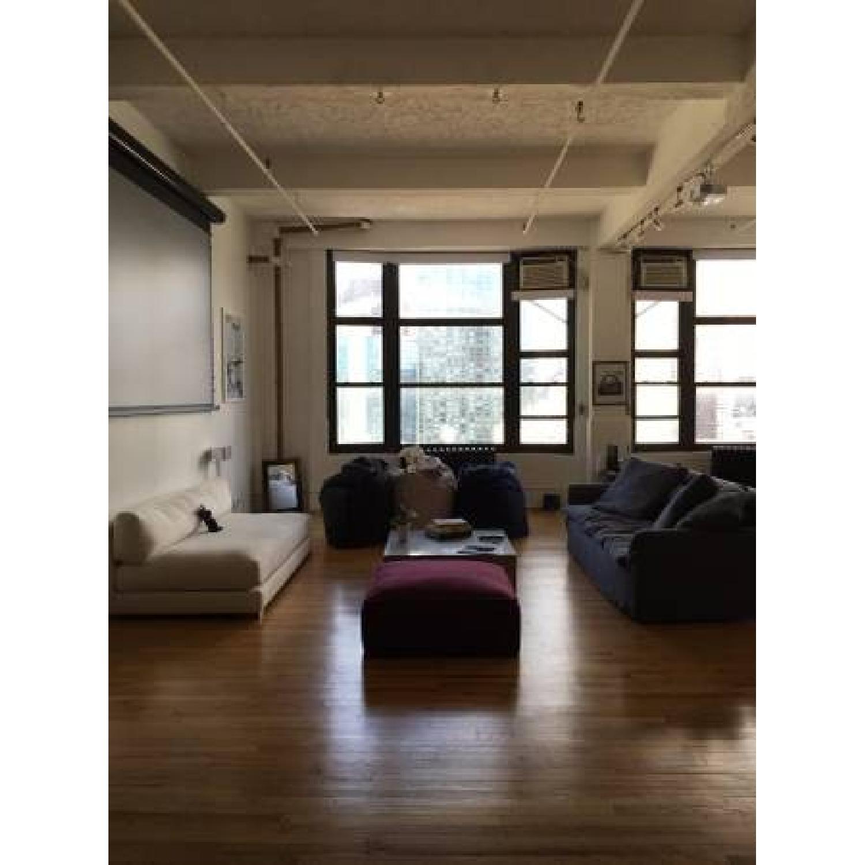 ABC Carpet and Home Garnet Pouf - image-3