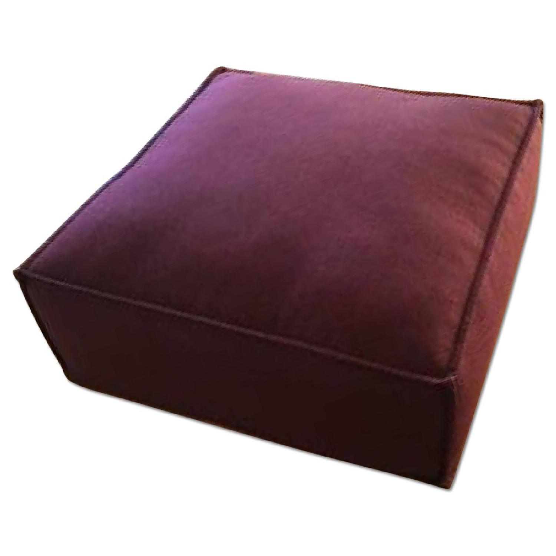 ABC Carpet and Home Garnet Pouf - image-0