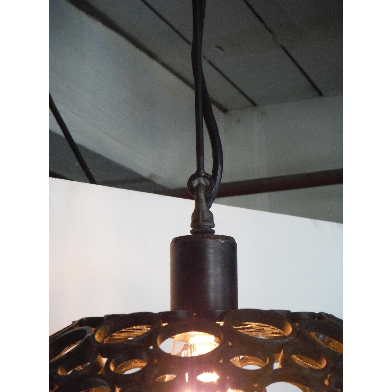 Oblik Studio Tiffany Steel Pendant Light - image-2
