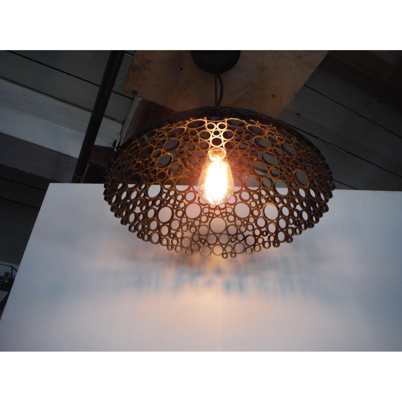 Oblik Studio Tiffany Steel Pendant Light - image-4
