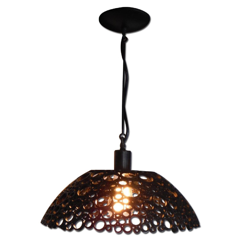 Oblik Studio Tiffany Steel Pendant Light - image-0
