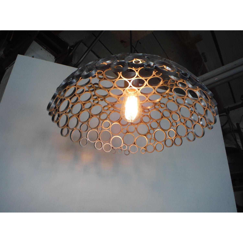 Oblik Studio Inc Tiffany Aluminum Ceiling Pendant - image-1