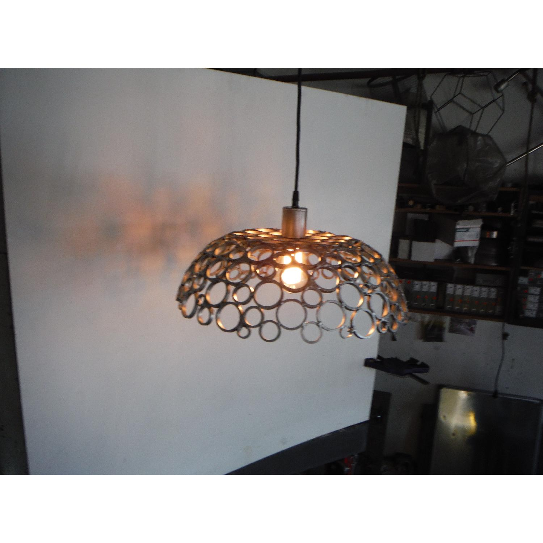 Oblik Studio Inc Tiffany Aluminum Ceiling Pendant - image-2