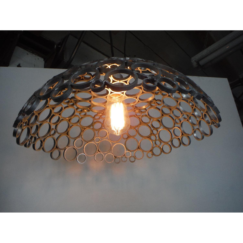 Oblik Studio Inc Tiffany Aluminum Ceiling Pendant - image-3