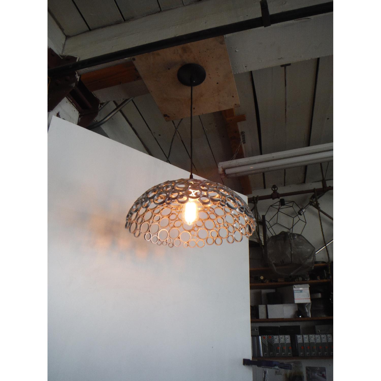 Oblik Studio Inc Tiffany Aluminum Ceiling Pendant - image-4