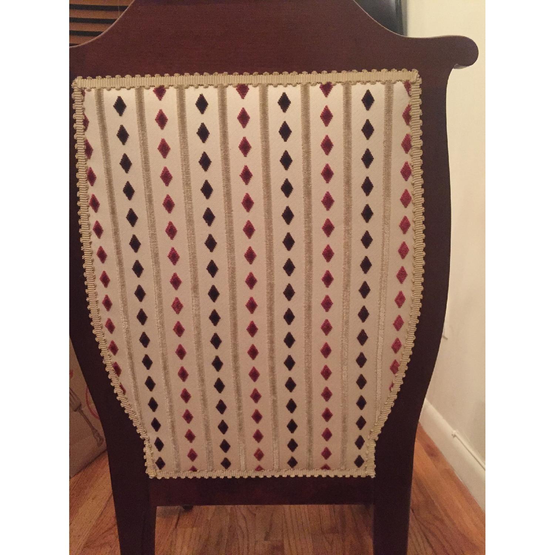 Antique Mahogany Slipper Chair - image-2