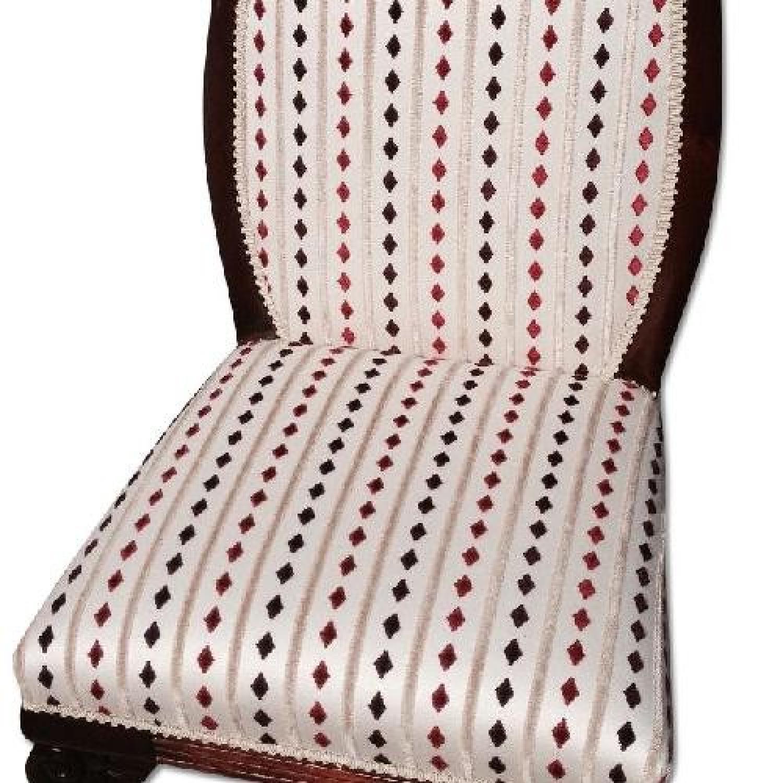 Antique Mahogany Slipper Chair - image-3