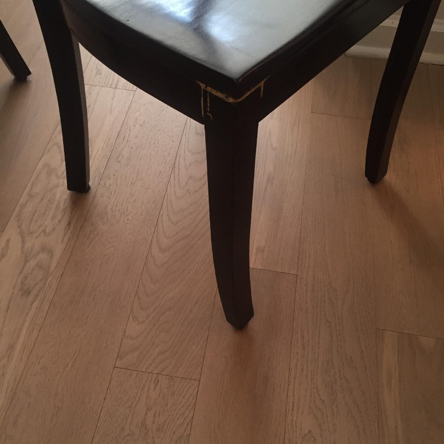 Crate & Barrel Dining Room Table w/ 6 Chairs - image-5
