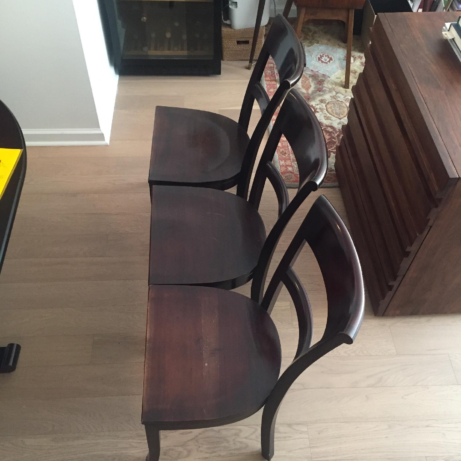 Crate & Barrel Dining Room Table w/ 6 Chairs - image-6