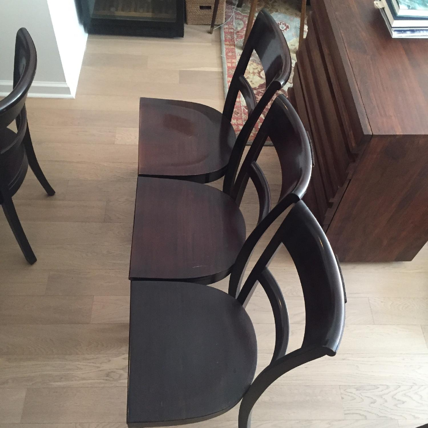 Crate & Barrel Dining Room Table w/ 6 Chairs - image-7