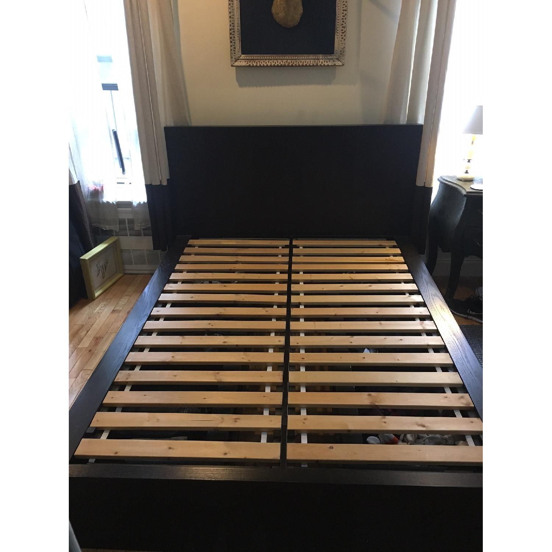 West Elm Queen Platform Storage Bed - image-1