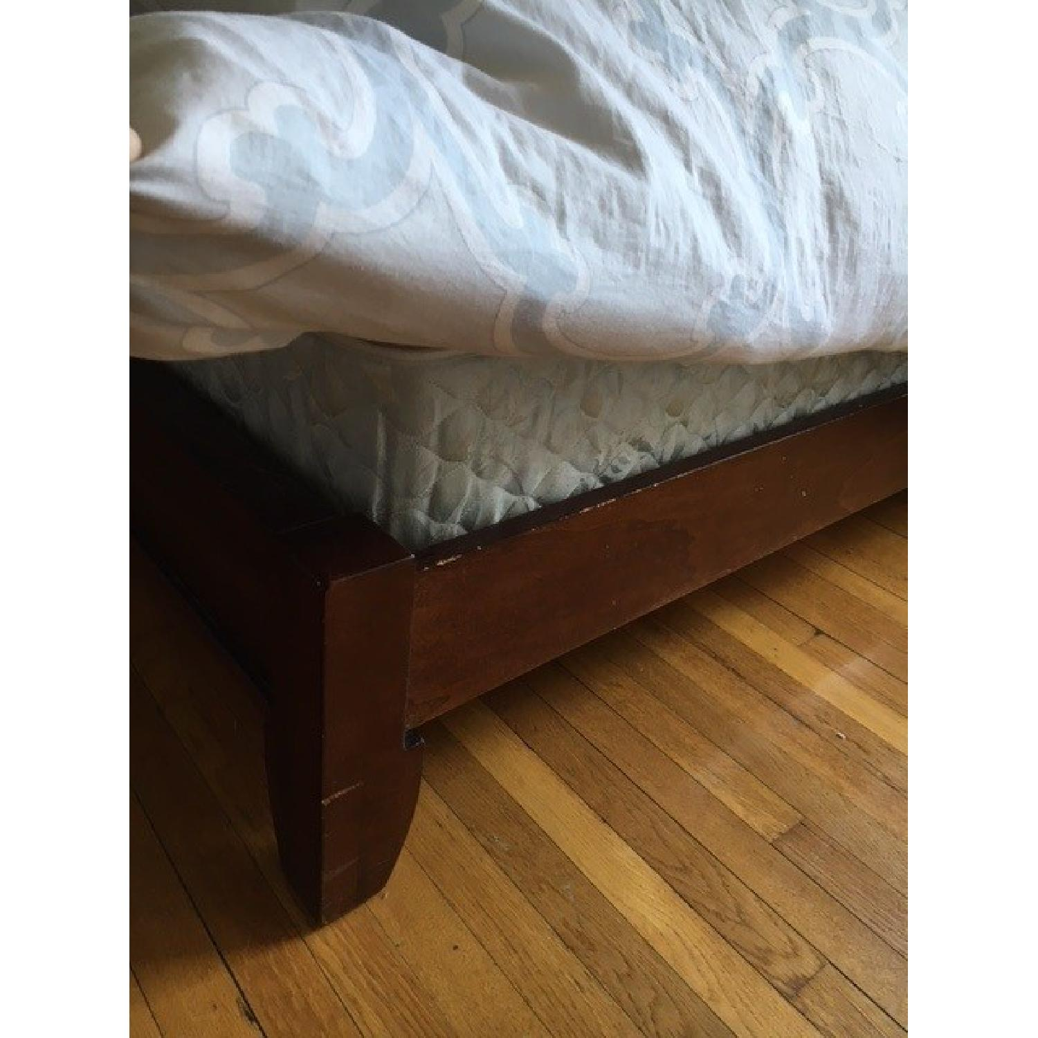 Queen Size Bed Frame w/ Headboard - image-3
