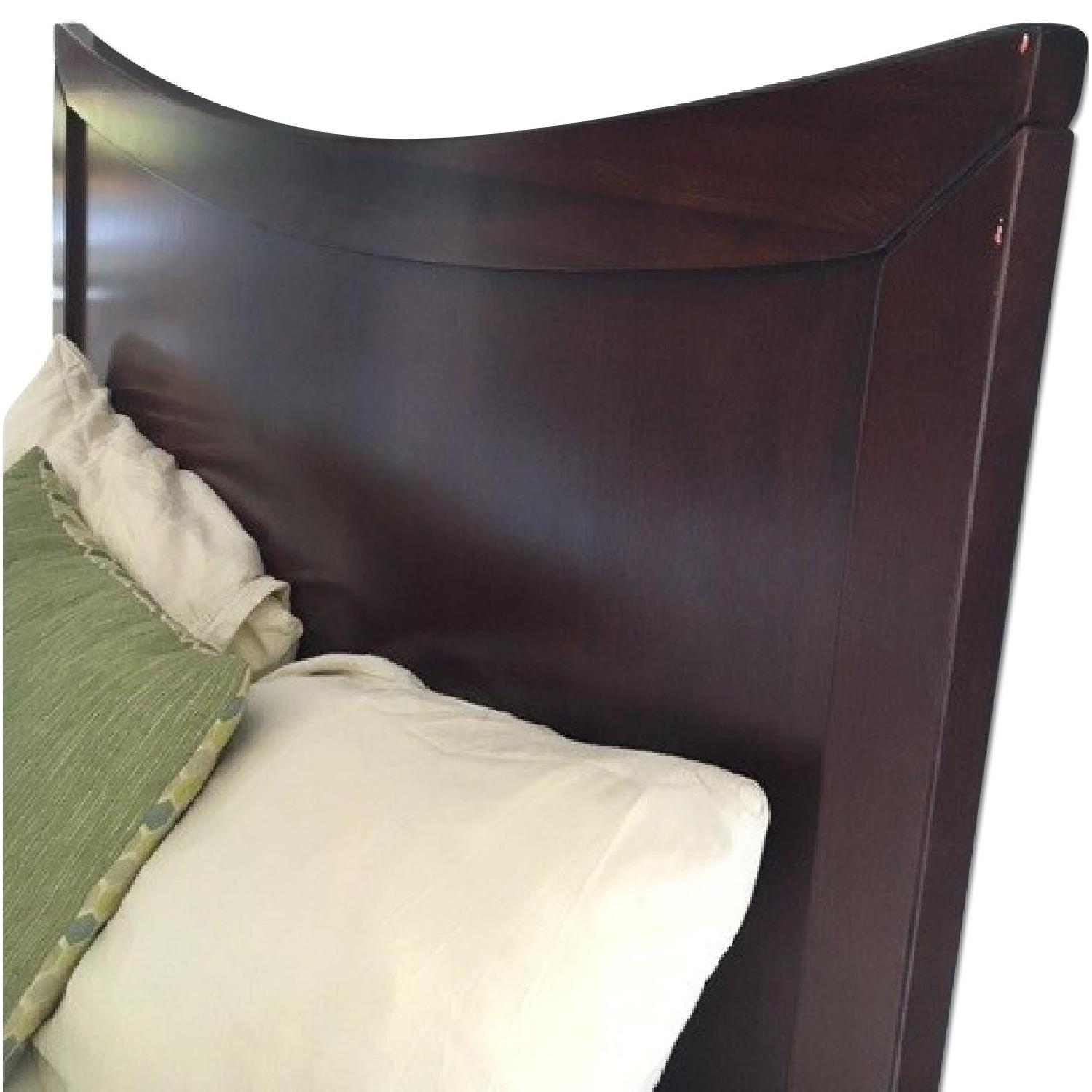 Queen Size Bed Frame w/ Headboard - image-5