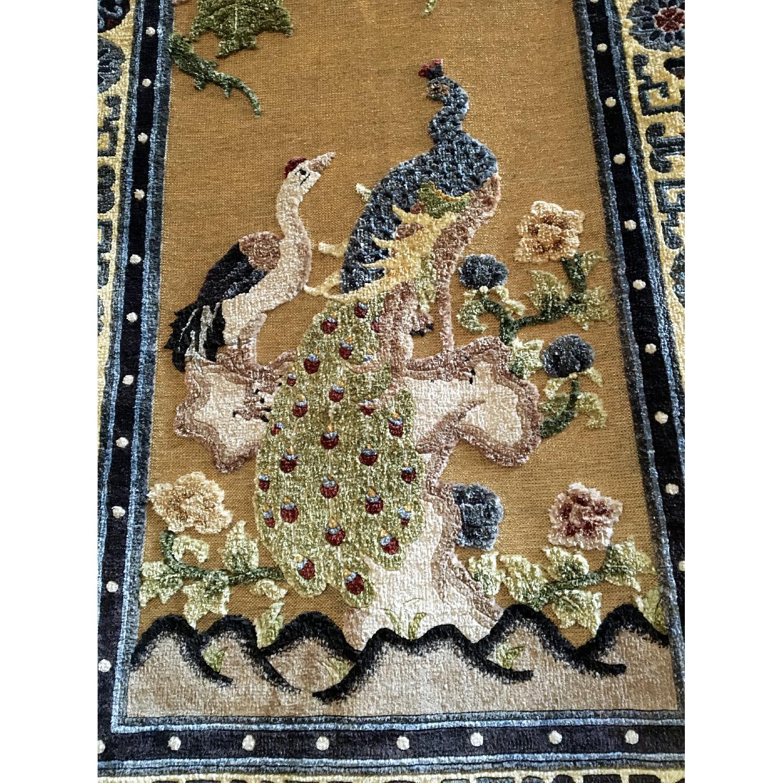 Silk Carpet Embossed Wall Hanging - image-1