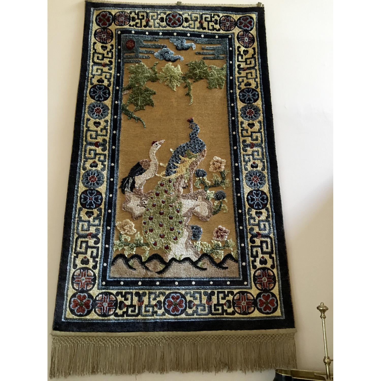 Silk Carpet Embossed Wall Hanging - image-2