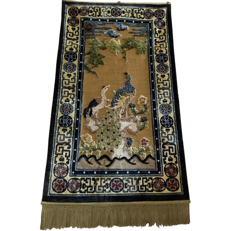 Silk Carpet Embossed Wall Hanging - image-0