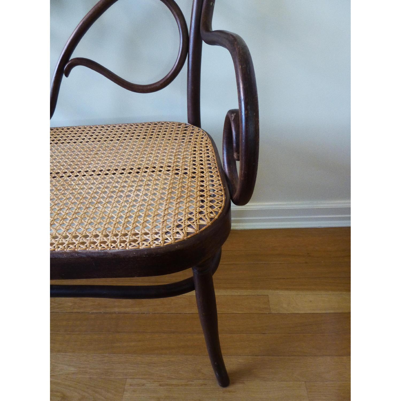 Bentwood Loveseat w/ Cane Seat - image-4