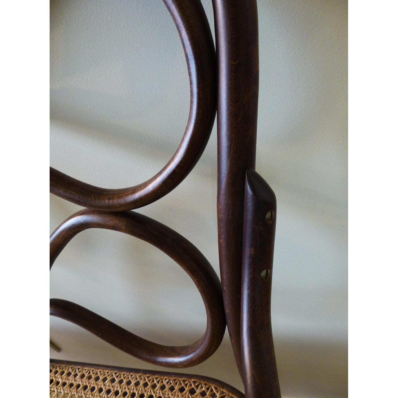 Bentwood Loveseat w/ Cane Seat - image-5