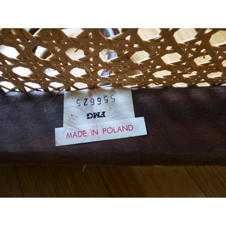 Bentwood Loveseat w/ Cane Seat - image-7
