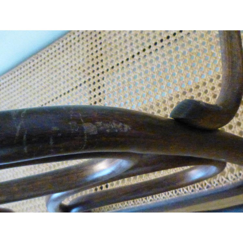 Bentwood Loveseat w/ Cane Seat - image-10