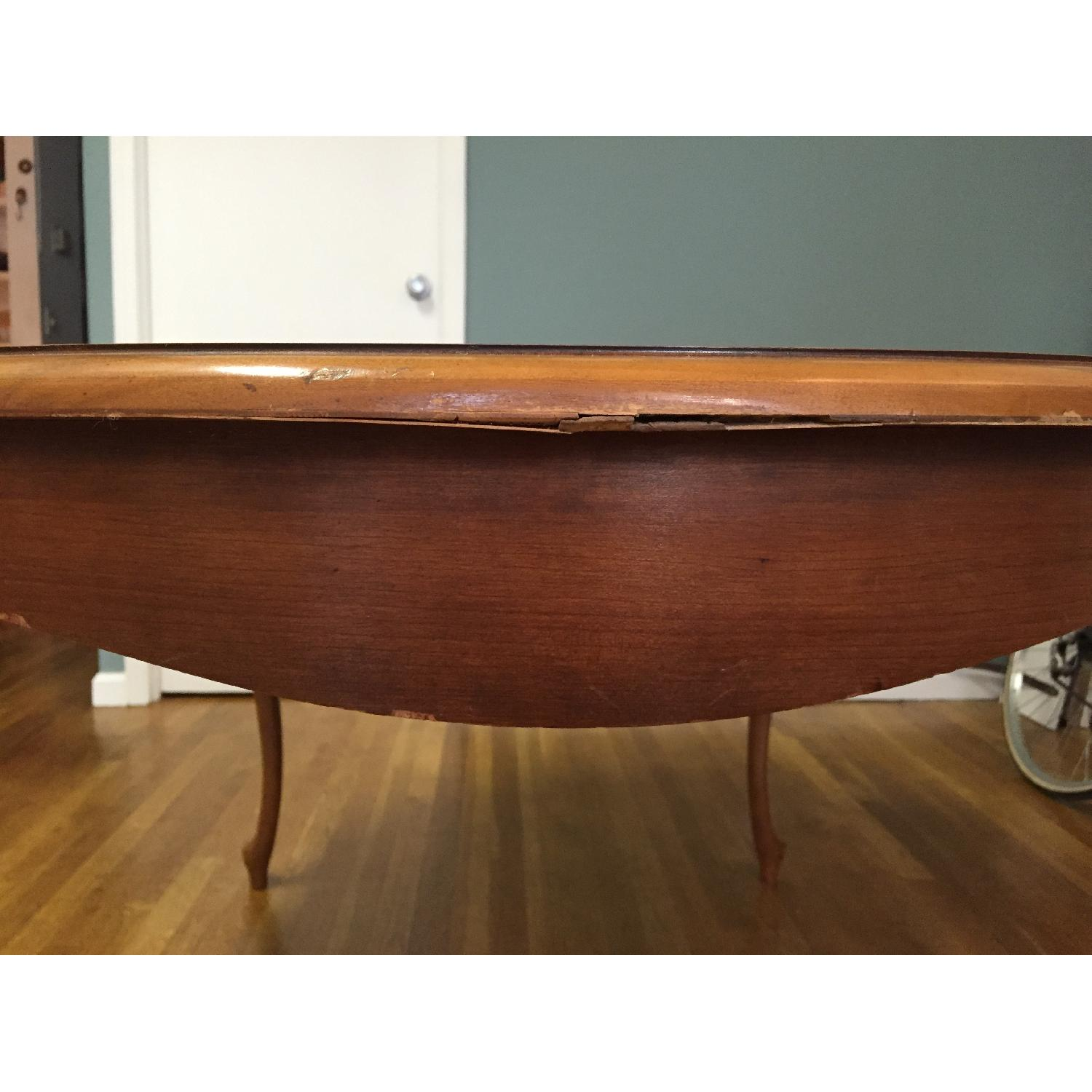 Mid-Century Queen-Anne Leg Dining Table - image-7