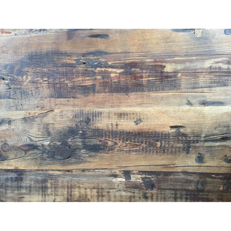 Restoration Hardware Wood Dining Table - image-3