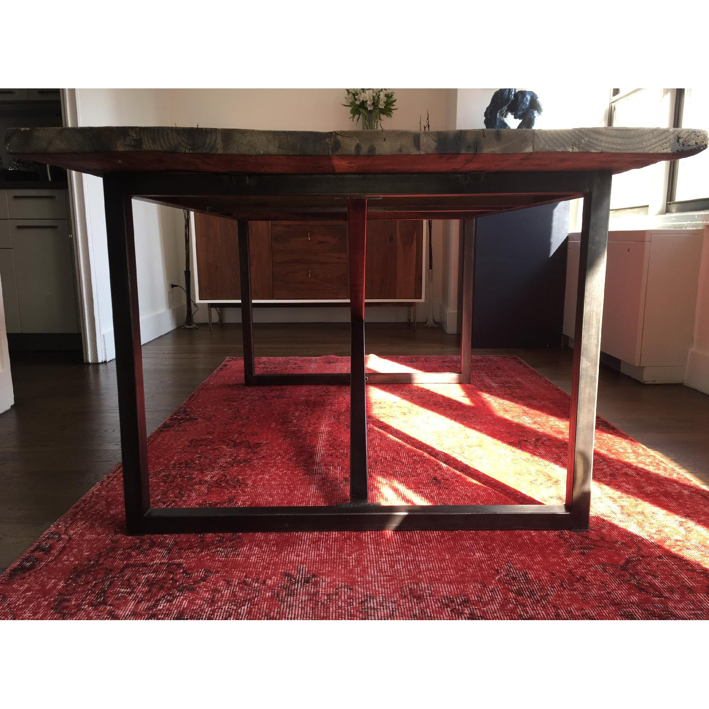 Restoration Hardware Wood Dining Table - image-4