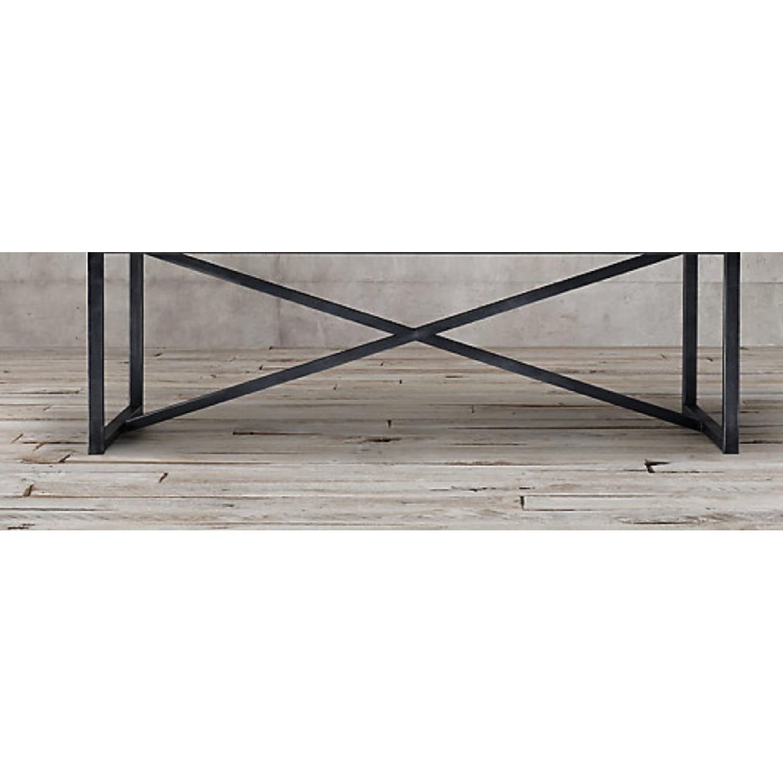 Restoration Hardware Wood Dining Table - image-8