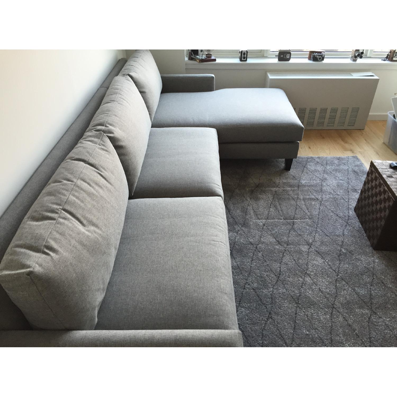 Apt2b Formosa 2 Piece Grey Sectional - image-4