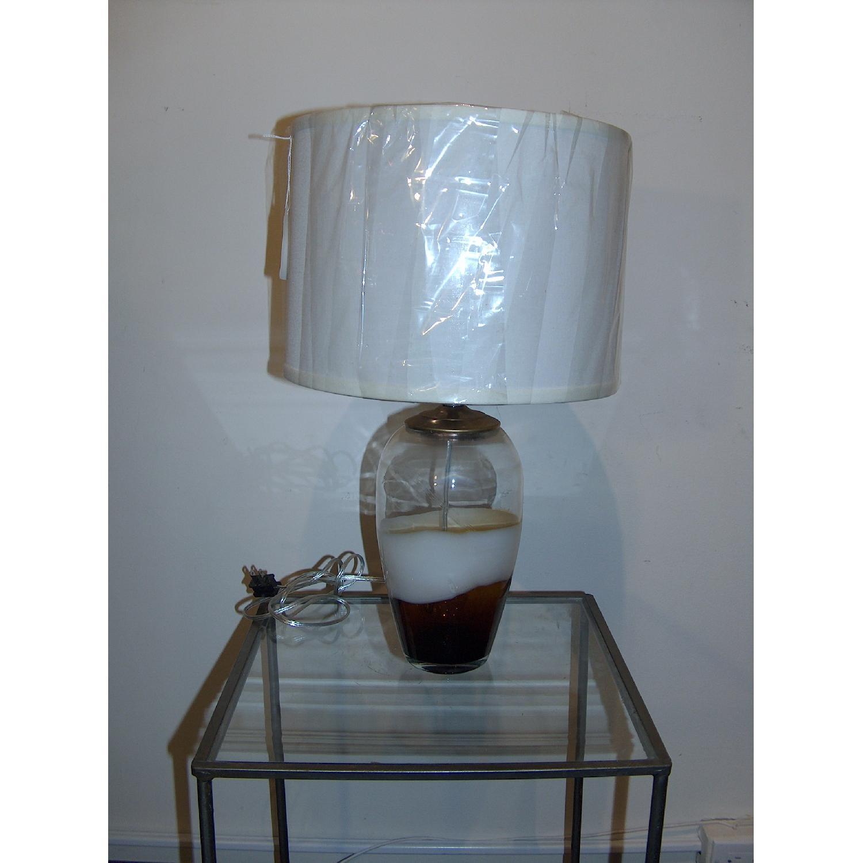 Hand Blown Murano Glass Table Lamp - image-1