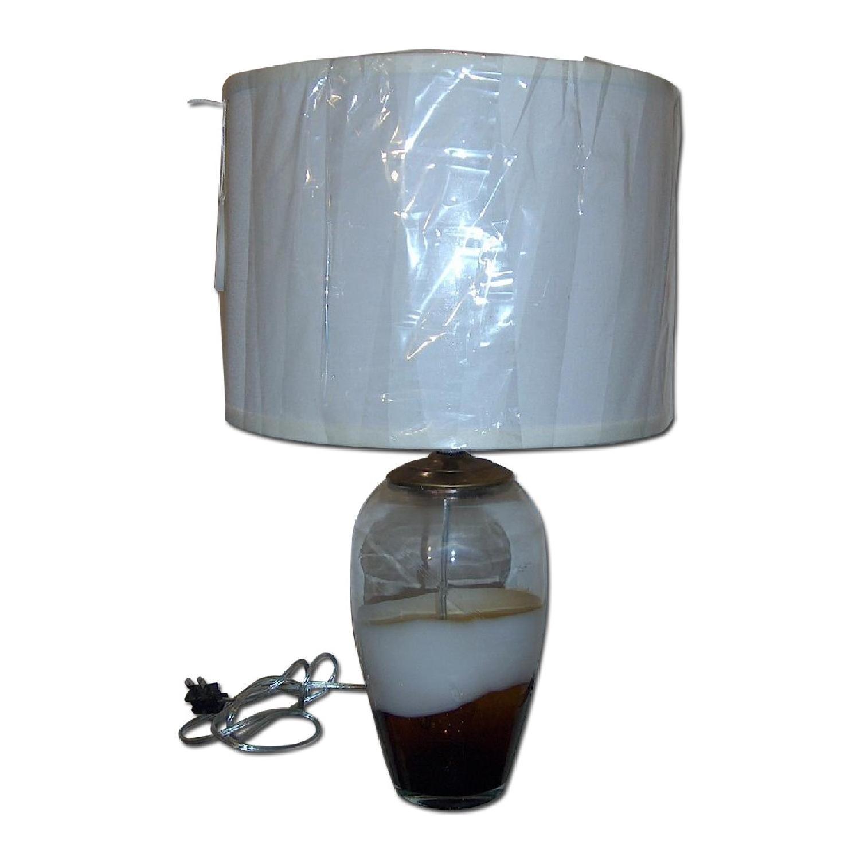 Hand Blown Murano Glass Table Lamp - image-0