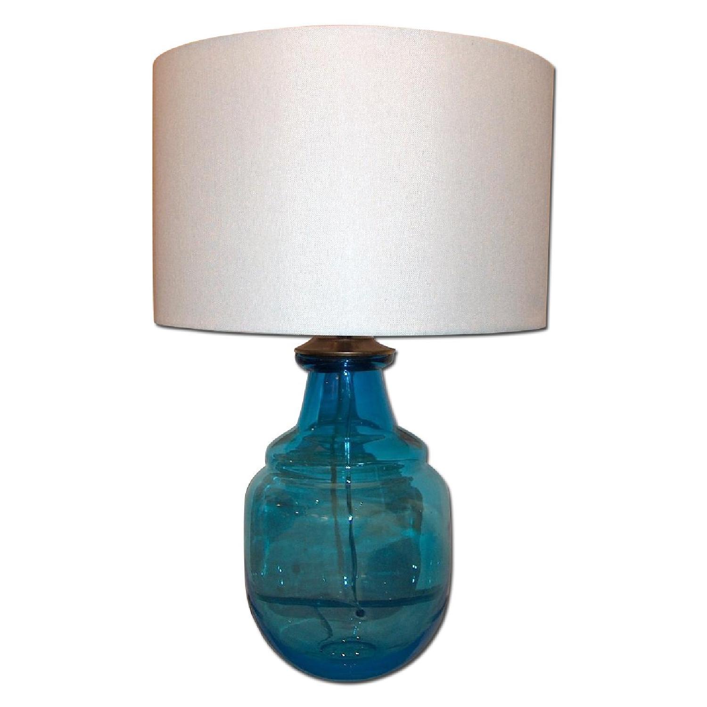 Mid Century Murano Glass Table Lamp