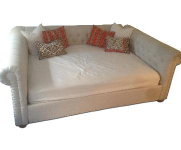 Restoration Hardware Full Size Chesterfield Daybed