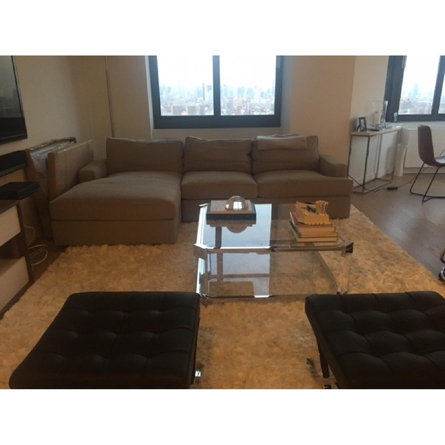 Room & Board Sectional w/ Chaise - image-3