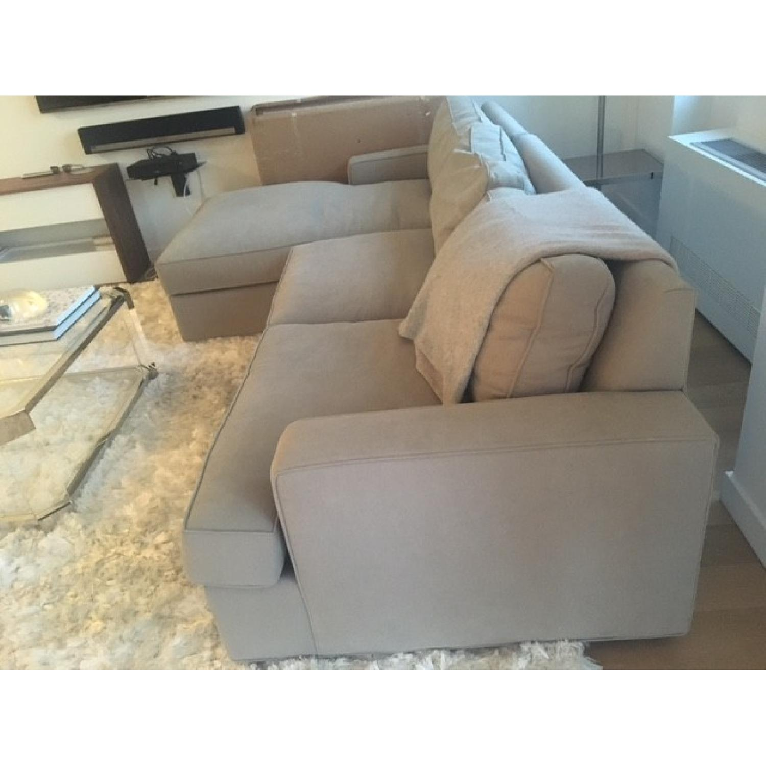 Room & Board Sectional w/ Chaise - image-5